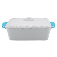 casserole rect avec poignées en silicone 2000CC