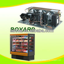 condensing units for refrigeration with hermetic refrigeration compressor FOR SUPERMARKET CABIN
