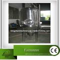Fermentador de aço inoxidável com agitação mecânica para planta