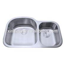 Edelstahl Undermount Double Bowl Sink