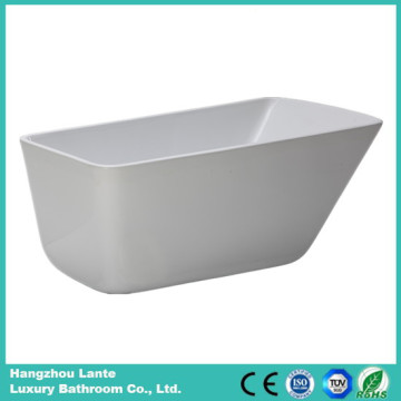 Acrylic Fiberglass Seamless Bathtub with Drain (LT-26D)