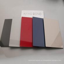 PVDF Panel compuesto de aluminio Panel sándwich MCbond