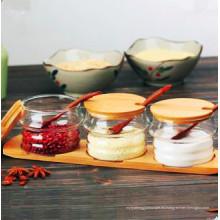 Frasco de especias de vidrio Eco-Freindly Food Grade