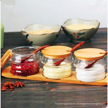 Eco-Freindly Food Grade Glas Spice Jar