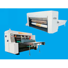 Mechanical Die-cutter Flexo Printing Machine , Vacuum Feeding Machine