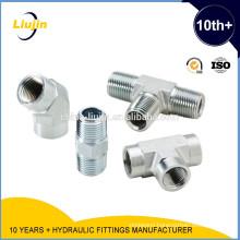 Eaton carbon steel bottom price elbow NPT JIC Threaded adaptors