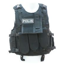 Militärische Gewehrkugel-Beweis-taktische Weste für Polizei
