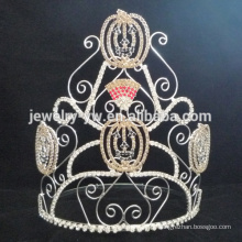 As coroas as mais atrasadas do Dia das Bruxas da tiara da cara da abóbora do estilo