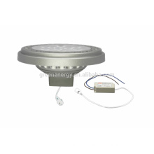 High power dimmable LED AR111 light 11w 120 degree with external driver
