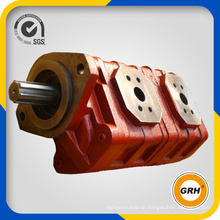 Double Hydraulic Gear Pump for Forklifts, Lorry Crane, Autocrane, Loader, Paver, Grader