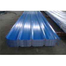Hellblaue Farbe beschichtete trapezförmige Stahlblechplatte