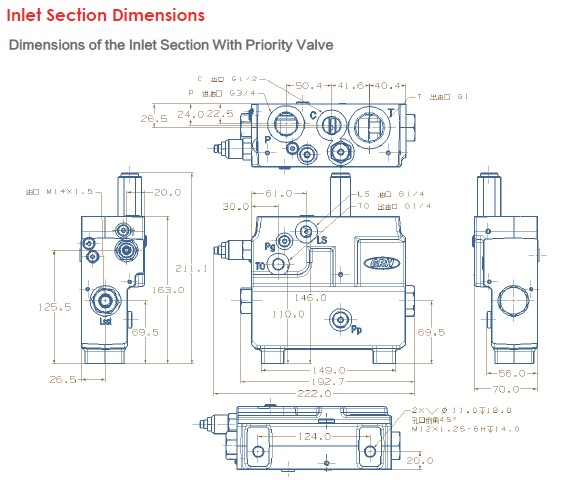 Inlet Section Dimensions-1