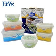 Десятку продаваемых продуктов пластиковый контейнер L комплект