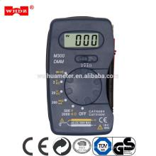 Карманный цифровой мультиметр М300 карманный аналоговый мультиметр