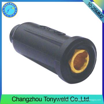 Conexión de cable de soldadura hembra de 10-25 mm2