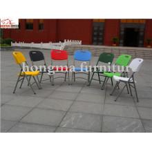 Cadeiras de plástico dobráveis de plástico para eventos
