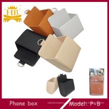 Caja de almacenaje del coche, bolso del teléfono