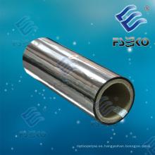Película metálica metalizada para mascotas para laminación en caliente (1212S)
