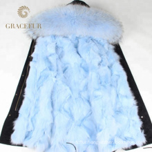 Good Supplier winter fur ski parkas with fur lining