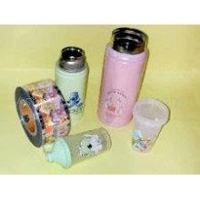 Wärmeübertragung Aufkleber, Film, Aufkleber für Kunststoffprodukte, Glas, PE, Metall