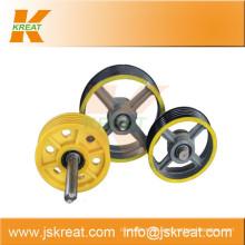 Aufzug Parts| Aufzug-Deflektor Seilscheibe Manufacturer|sheave