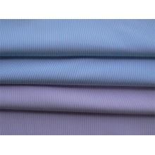 Tela terminada fio da amônia líquida tela tingida para a camisa