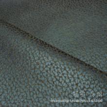 Bronzing Suede Leather Microfiber Nubuck Fabric for Sofa