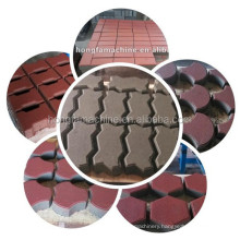 cheap price Hydraulic brick making machine HF300T,Hydraulic paver/interlocking/solid brick Machine