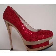 Zapatos de vestir de tacón de aguja sexy Fasion High Heel (Hcy07-022)