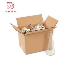 Chine Personnalisé fait l'usine décorative grand emballage de papier de boîte de bouteille