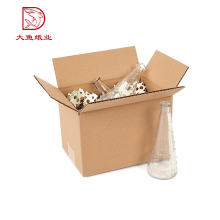 China Custom made decorative factory big bottle box paper packaging