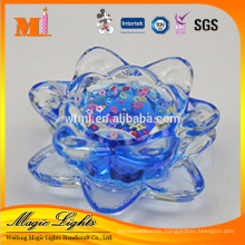 top quality eco-frendly scented gel wax congratulation candle in transparent lotus jakarta