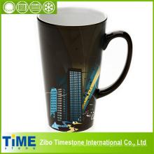 Tazas de café desgastadas del gres (7183-004, 7181-001, 7102-079)