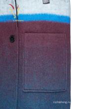 Женщин Случайный С Длинными Рукавами Шерстяной Пальто Плюс Размер Кашемировые Пальто
