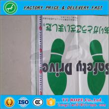 Anti-Slip Printed Cheap Disposable Plastic Car Floor mats in Roll
