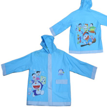 Blue Kids Pvc Raincoat