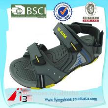 2015 zapatos de alta calidad para las sandalias de la plataforma de los hombres