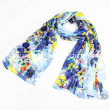 Silk Beach Dress Female Big Scarf