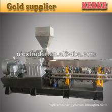 shj-75B parallel fiberglass reinforced pvc granule plastic pellets granulation machine