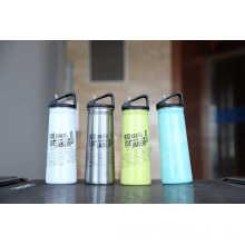 Botella de agua Ssf-580 de los deportes al aire libre de la sola pared del frasco Ssf-580 del acero inoxidable