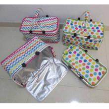 Panier de camping pliant avec sac isotherme (SP-301)