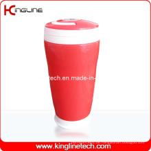 300ml Plastik-Doppelschicht-Cup mit Griff (KL-5015)