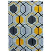 Tapis en polyester acrylique à tapis à la main