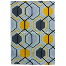 Acrylic Polyester Hand Tufted Carpet Rug