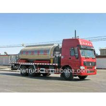 Factory Supply HOWO 6 * 4 caminhão de manutenção de pavimentação de asfalto, 12-14 ton Veículo de manutenção de estrada
