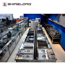 Hotel Catering Equipment American Style Stainless Steel Restaurant Kitchen Equipment