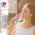Формы Пластиковые мода U-диска бутылка воды с соломой