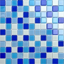 Mosaico in vetro da 4 mm per piscina