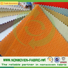 PP Non Woven Fabric with Crossed Design