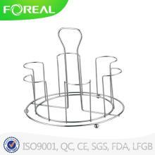 Support de table de cuisine Porte-gobelet en verre